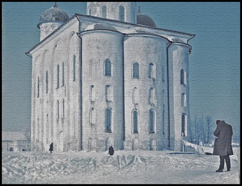 Юрьево зимой.
