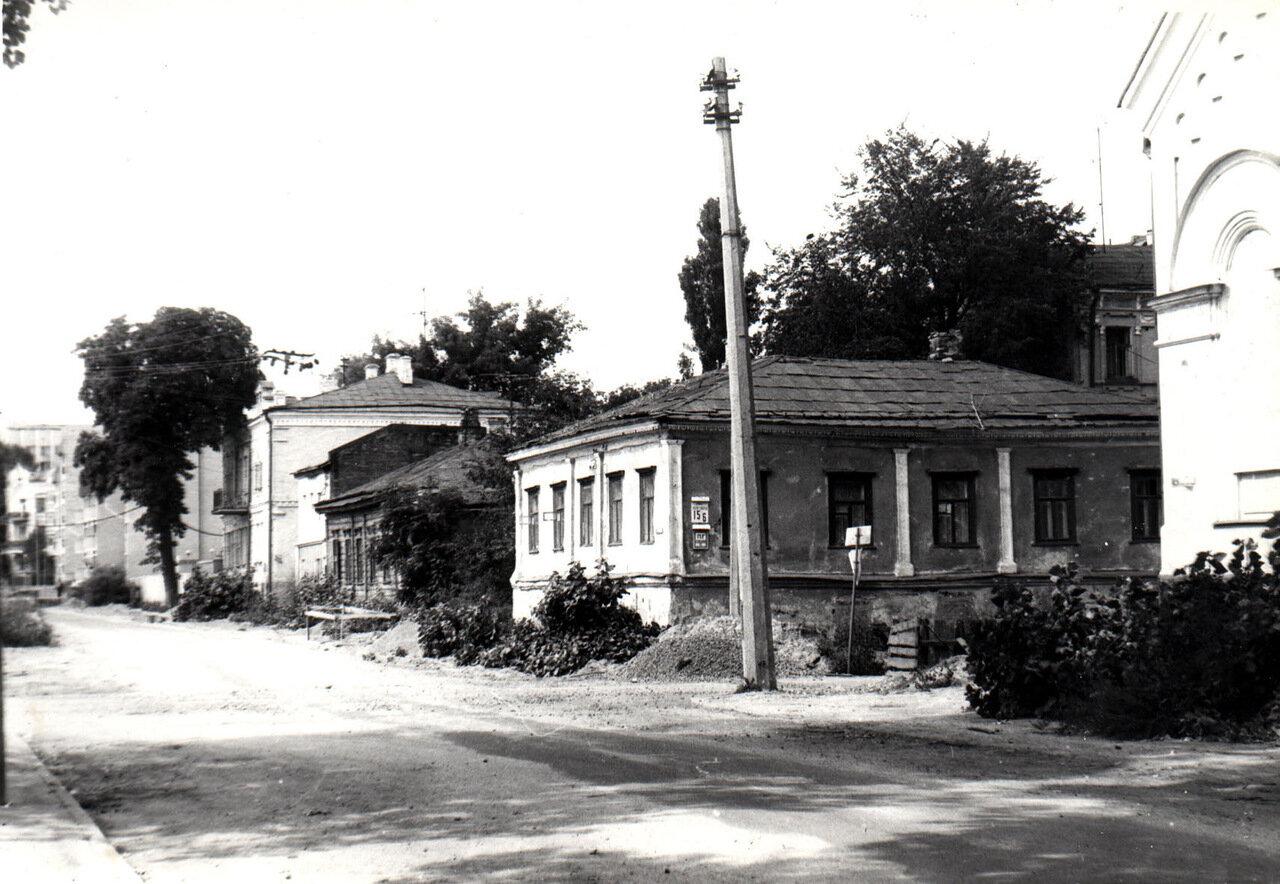Ул. Почайнинская в 1986 году