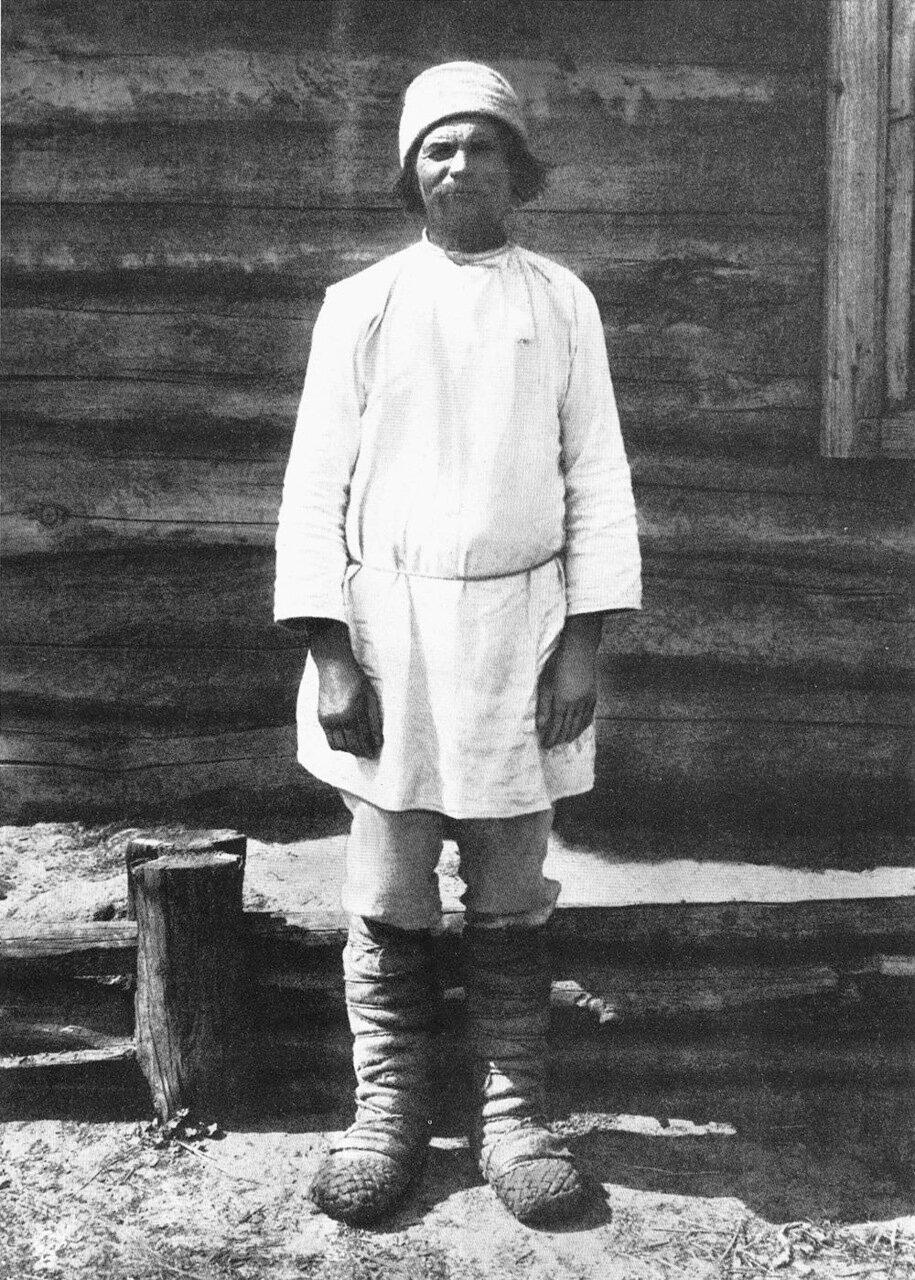 Мужчина в повседневной одежде. Орловская губ., Севский уезд