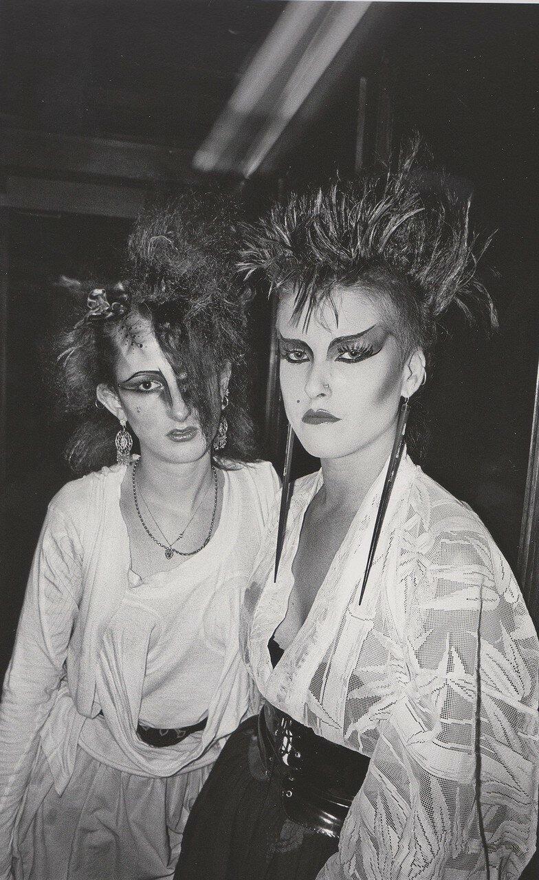 1983. Би и Сью в «The Wag Club»