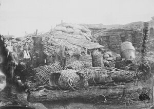 07. Мортира «Whistling Dick» на Малаховом кургане. 8 сентября 1855