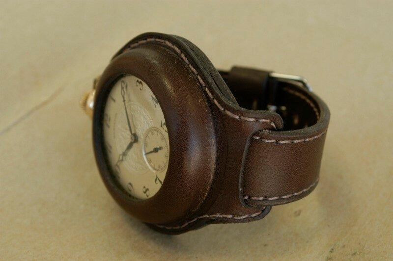 Ремешок для карманных часов своими руками