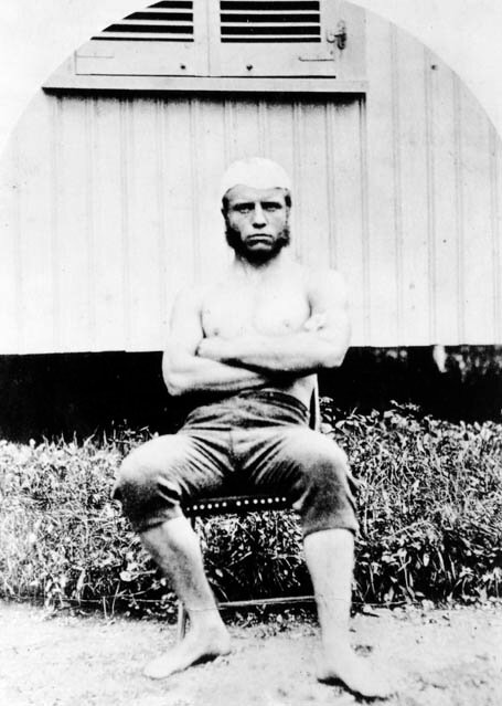 A 19-year-old Theodore Roosevelt during his freshman year at Harvard, 1877