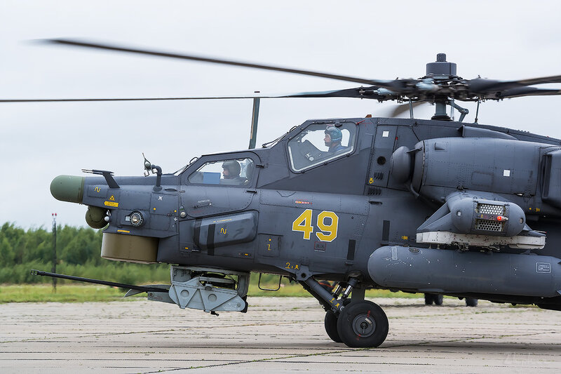 Миль Ми-28Н (RF-91089 49 жёлтый) D801816