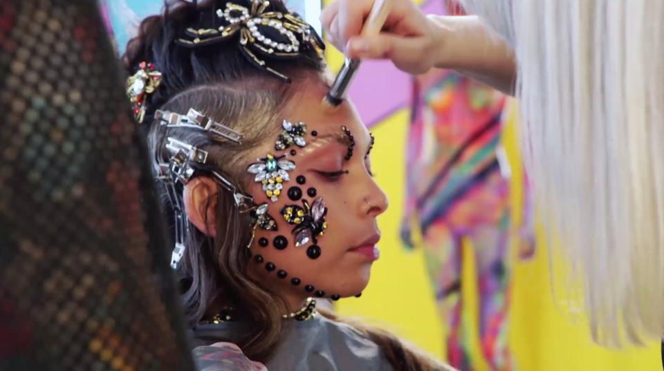 Конкурс экстремальных парикмахеров в Великобритании