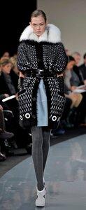 Шикарная кофта-пальто спицами от Malo NY F/W 08-09