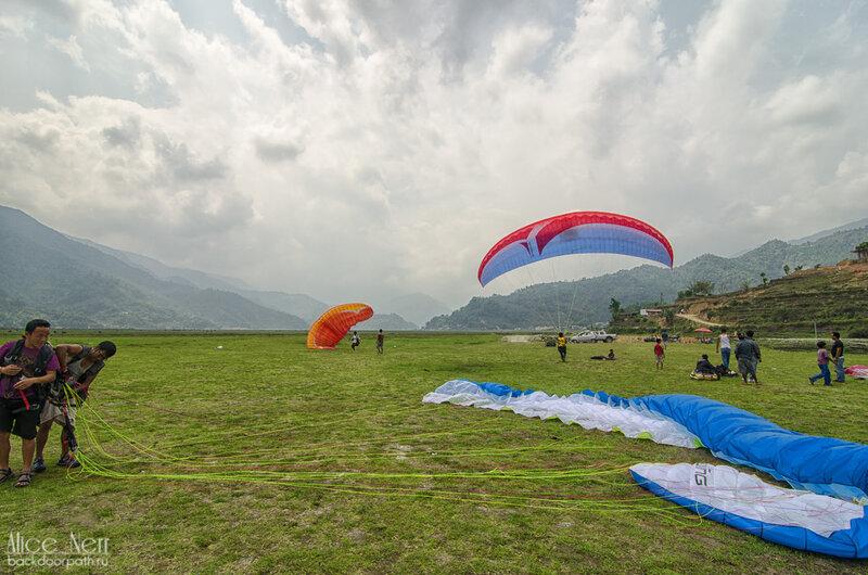 Дальняя площадка приземления в покхаре