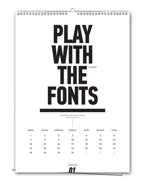 Поиграйте шрифтами