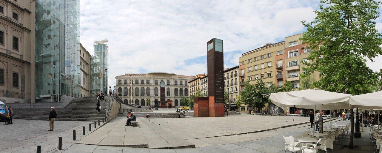 Madrid, Lavapies. Santa Isabel Street