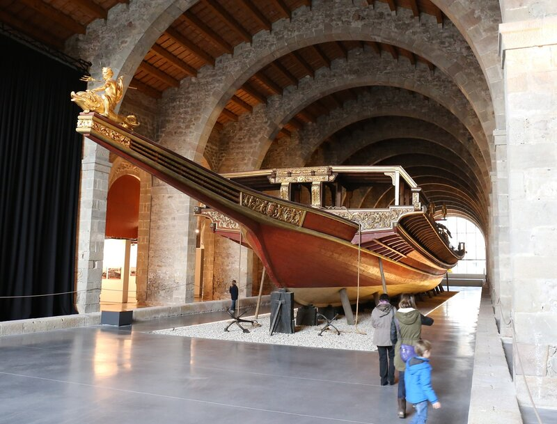 Real galley (Maritime Museum of Barcelona)