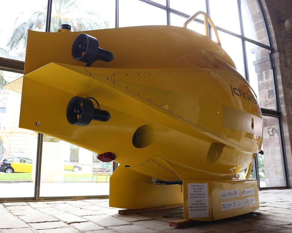 Морской музей БарселоныГлубоководный аппарат Ictineu 3