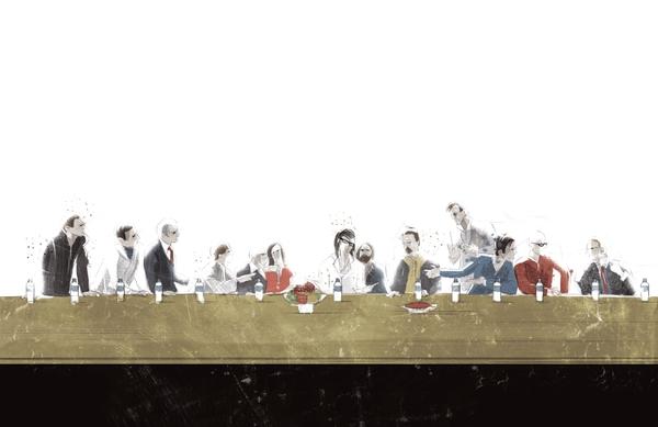 Графический дизайн Marie Bergeron. Про кино