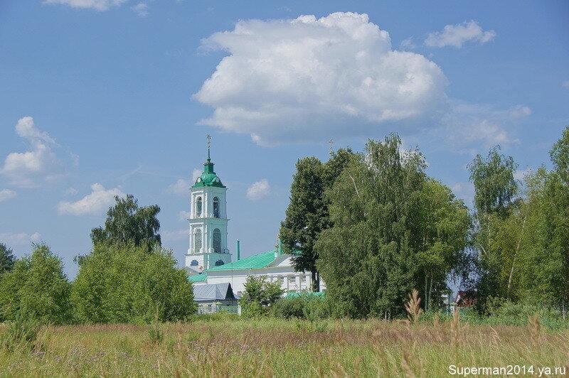 село Саурово - Храм Рождества Пресвятой Богородицы на Уползах