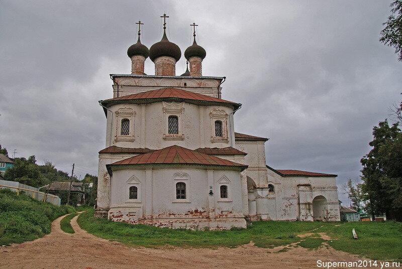 Гороховец - Воскресенская церковь