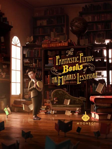 Фантастические летающие книги мистера Морриса Лессмора / The Fantastic Flying Books of Mr. Morris Lessmore (2011/WEB-DL/WEB-DLRip)