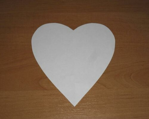 Шкатулка-сердце из бумаги