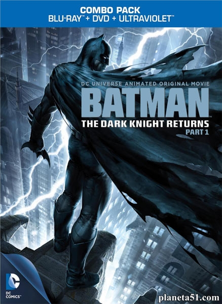 Темный рыцарь: Возрождение легенды. Часть 1 / Batman: The Dark Knight Returns, Part 1 (2012/HDRip)