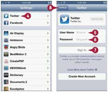 Если у вас нет учетной записи в Twitter, нажмите «Новая учетная запись» (Create New Account) и следуйте появляющимся на экране инструкциям