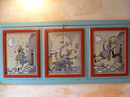 Чехия, Кутна Гора - ресторан Dačický (Czech Republic, Kutna Hora - restaurant Dačický)