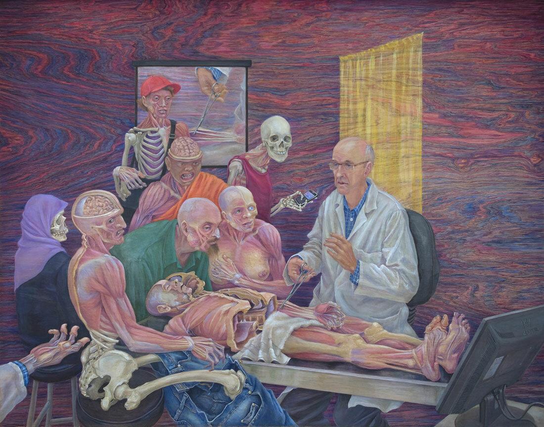 Урок анатомии на себе онлайн фото 729-462
