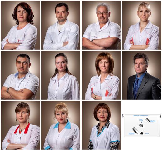 Съемка врачей для медцентра Альфа (Анапа 2013-06-15)