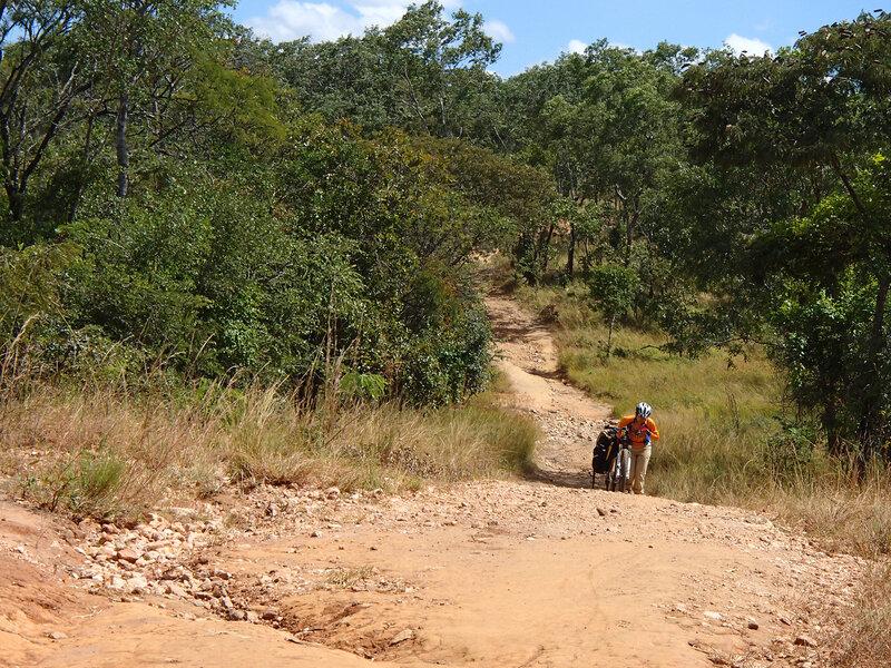 на велосипеде по Африке