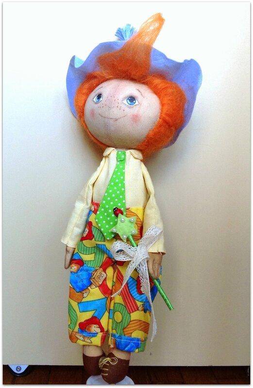 кукла незнайка