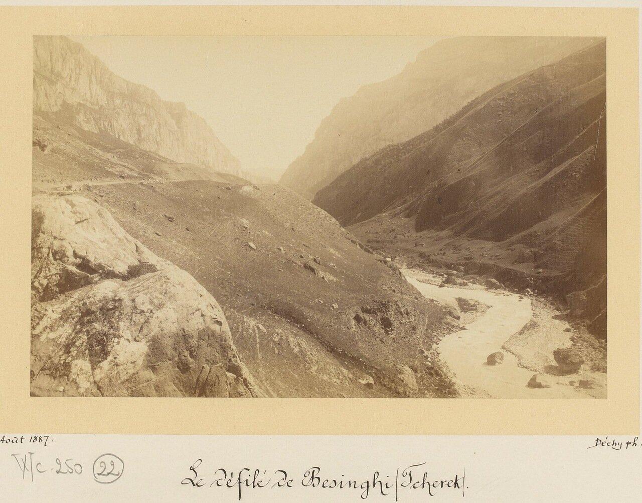 Терек в долине Безенги