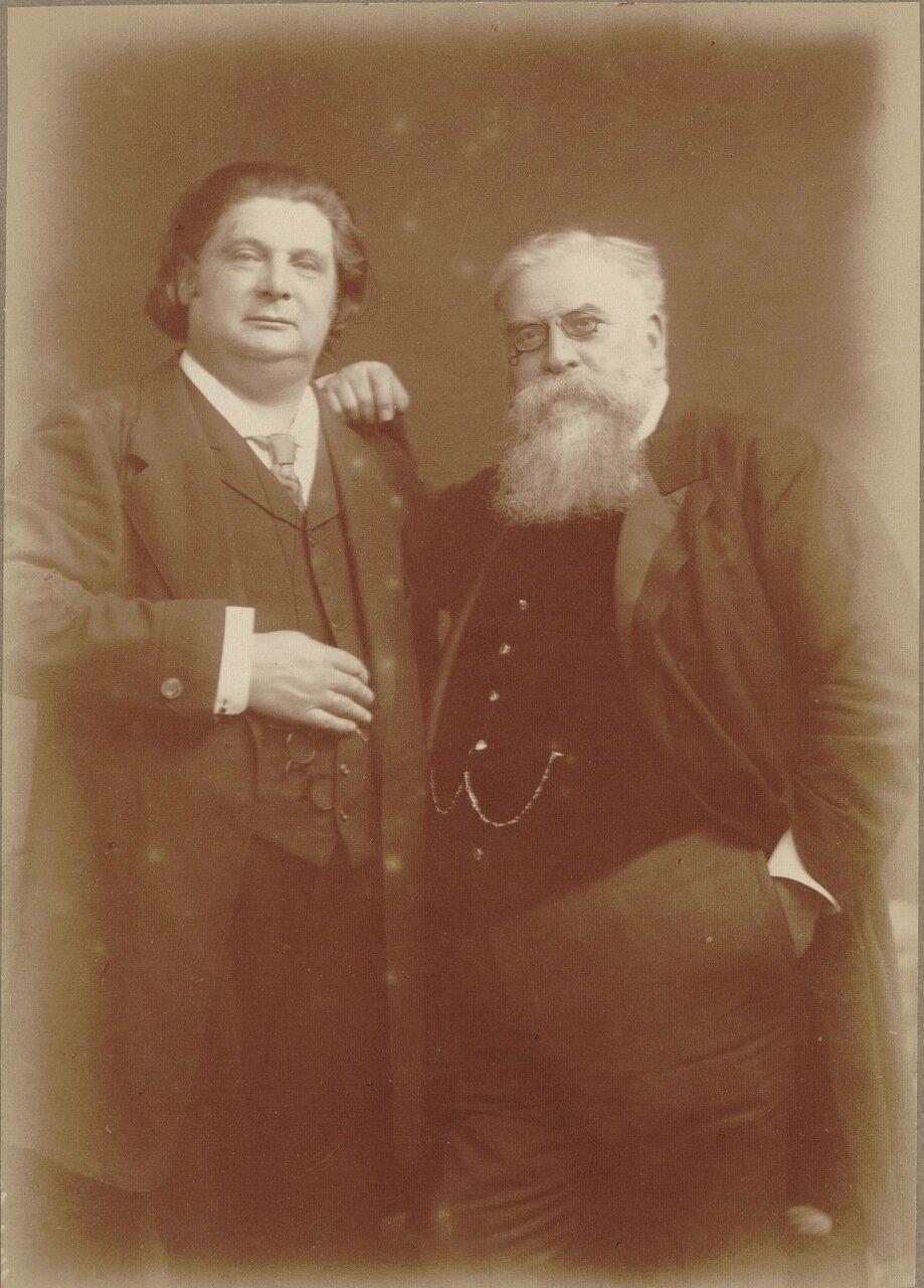 Рауль Пюньо и Эжен Изаи.