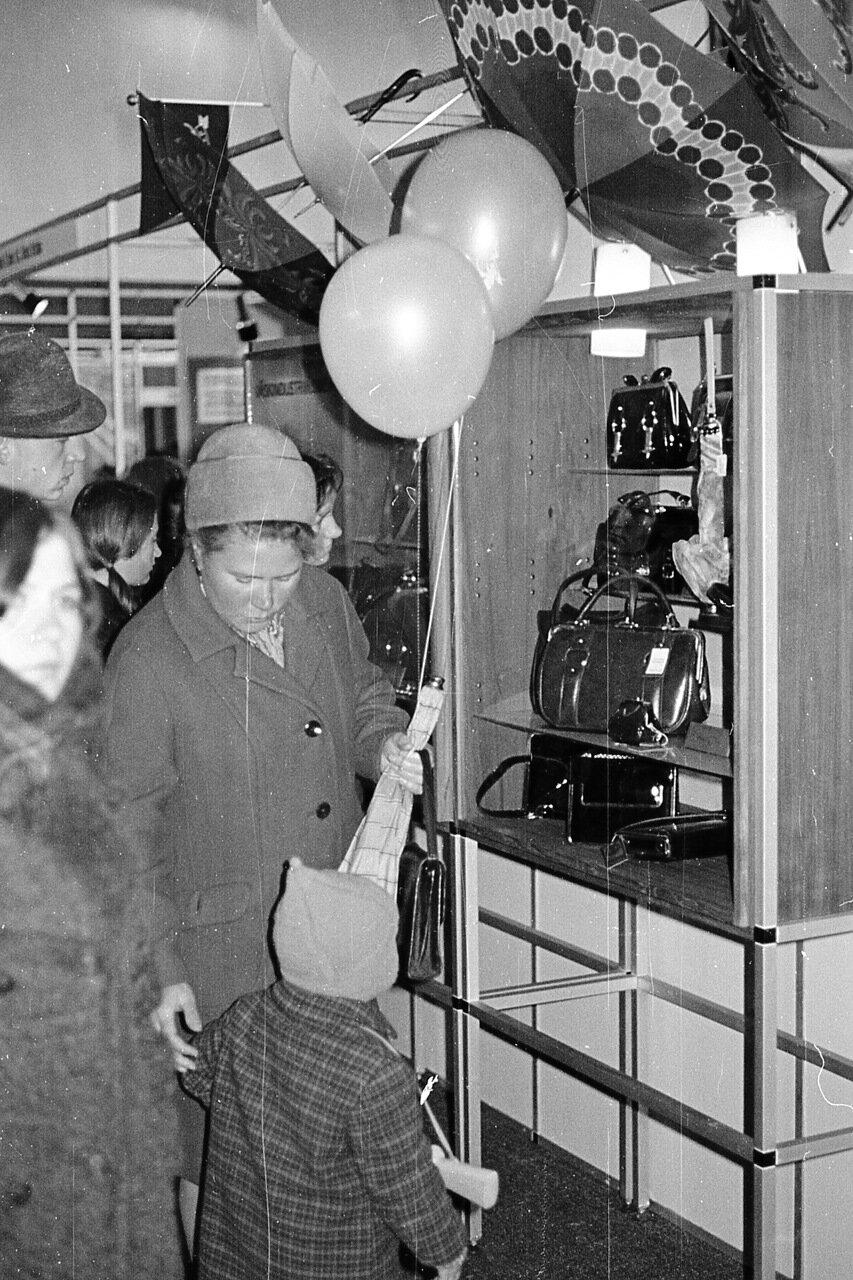 1969. Выставка «Обувь» год. Сокольники