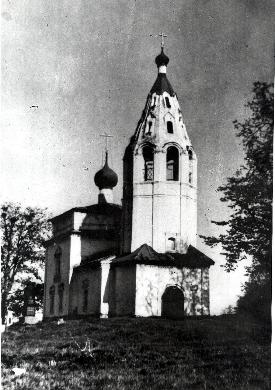 Свято-Ильинский храм  п. Палех (фото 70-х гг. XX в.)