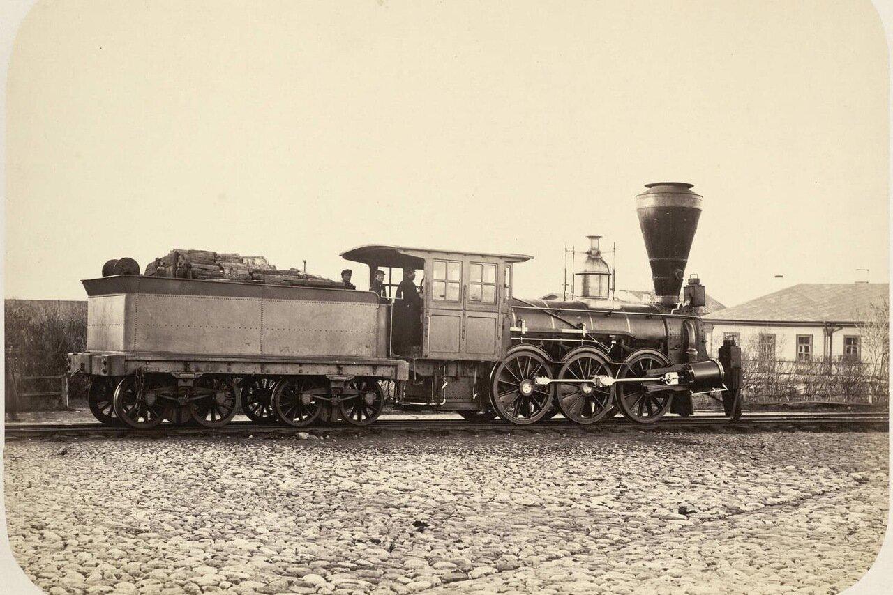 3. Паровоз на Николаевской железной дороге