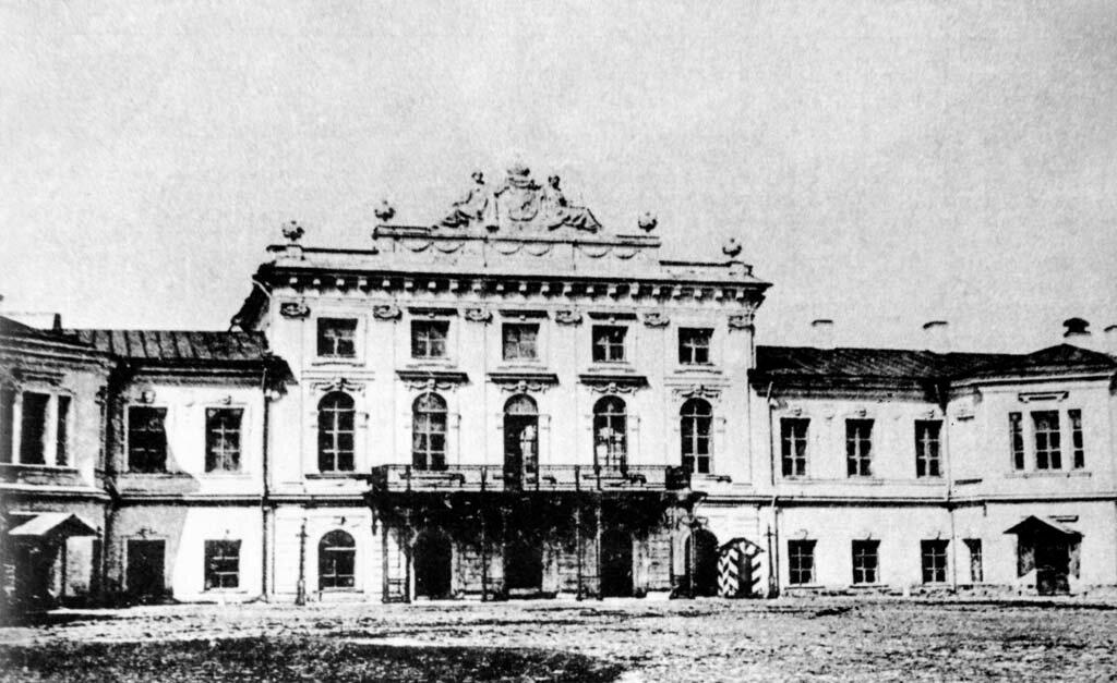 Путевой дворец. 1900