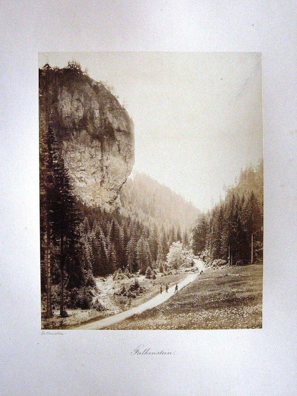 Falkenstein. [Photographs of Gotha, 1858. ]