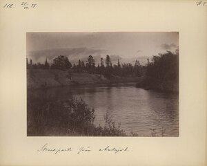 25.8.1887. Берег реки Аульджоки, притока реки Поной