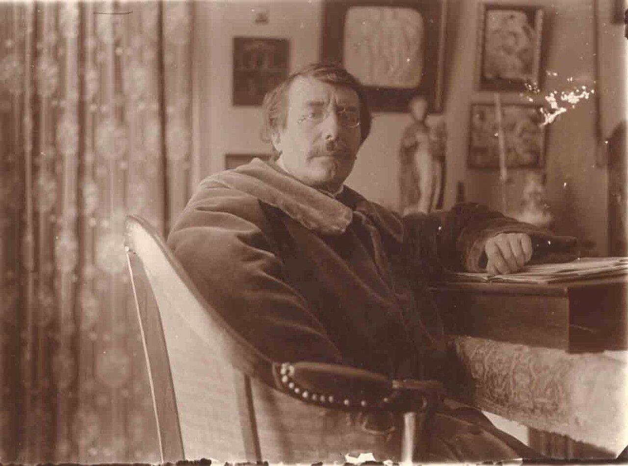 Поль Шарль Жозеф Бурже (1852 - 1935), французский писатель