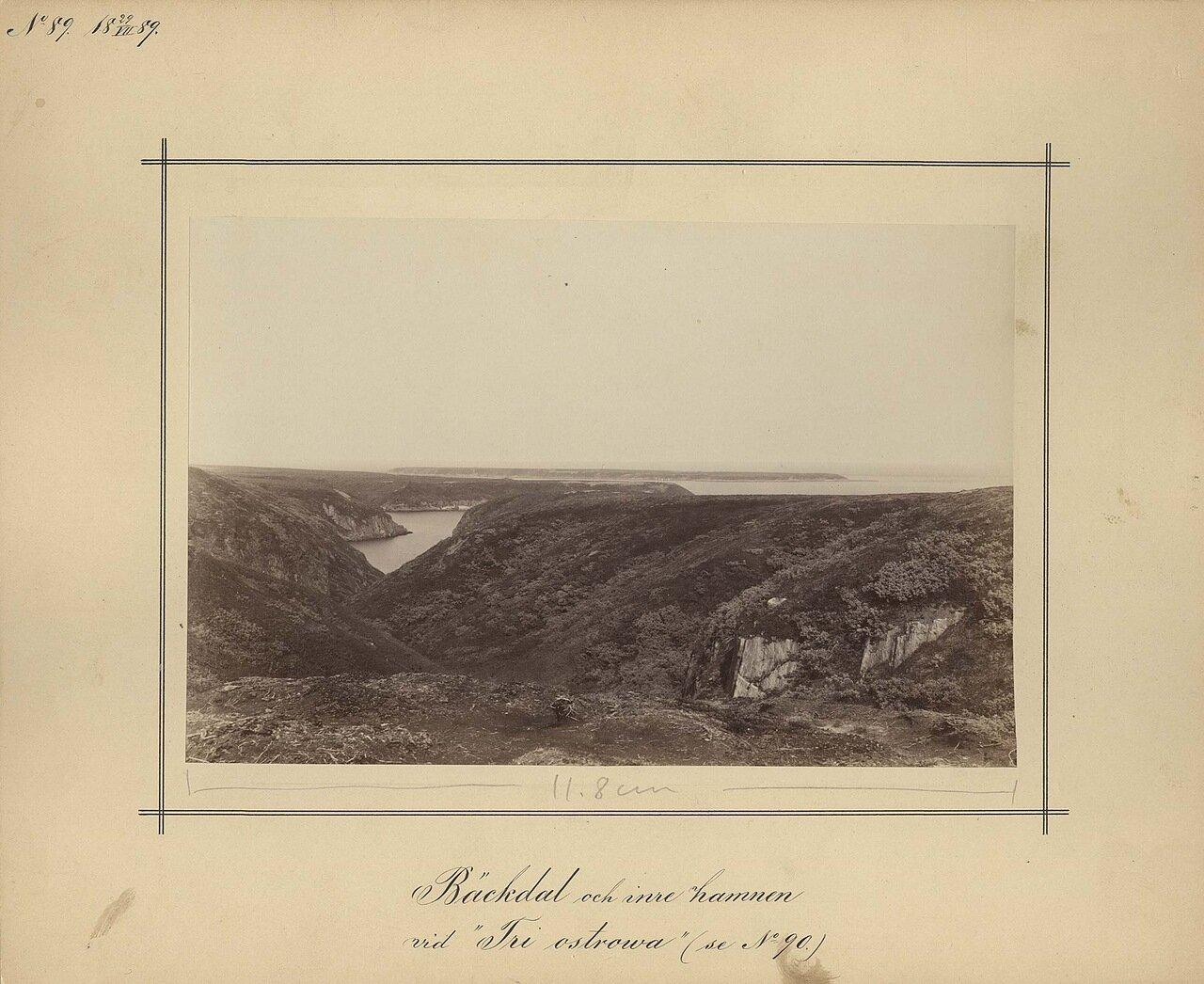 29.7.1889. Долина возле Трех островов