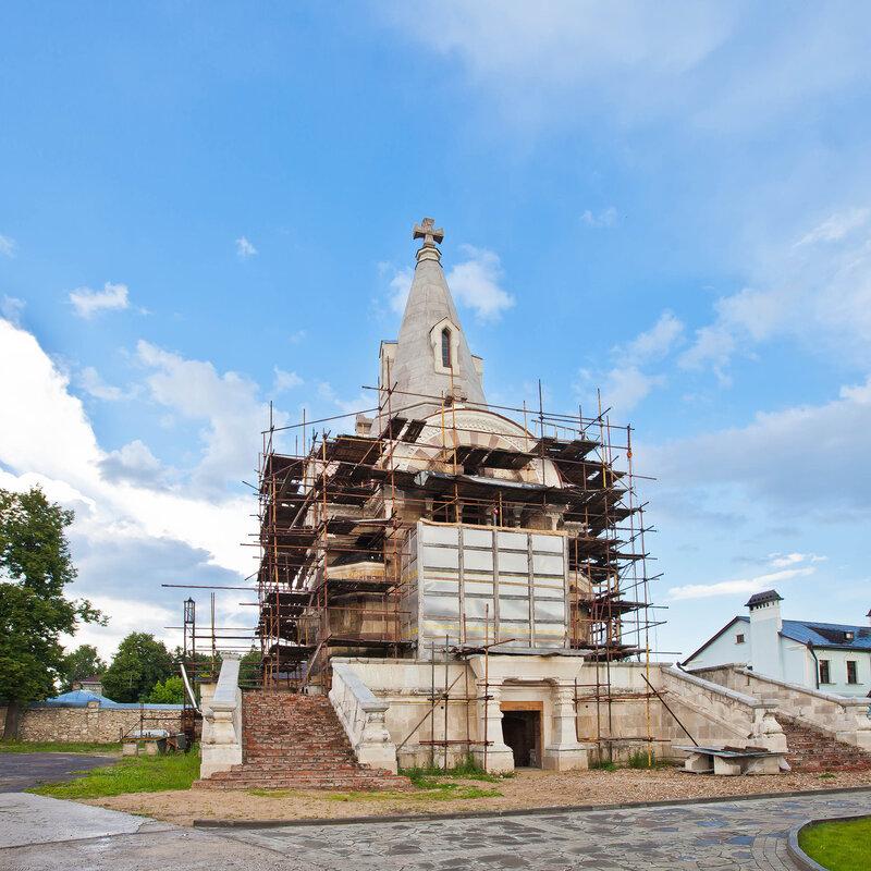 Церковь Всех Святых в Высоцком монастыре