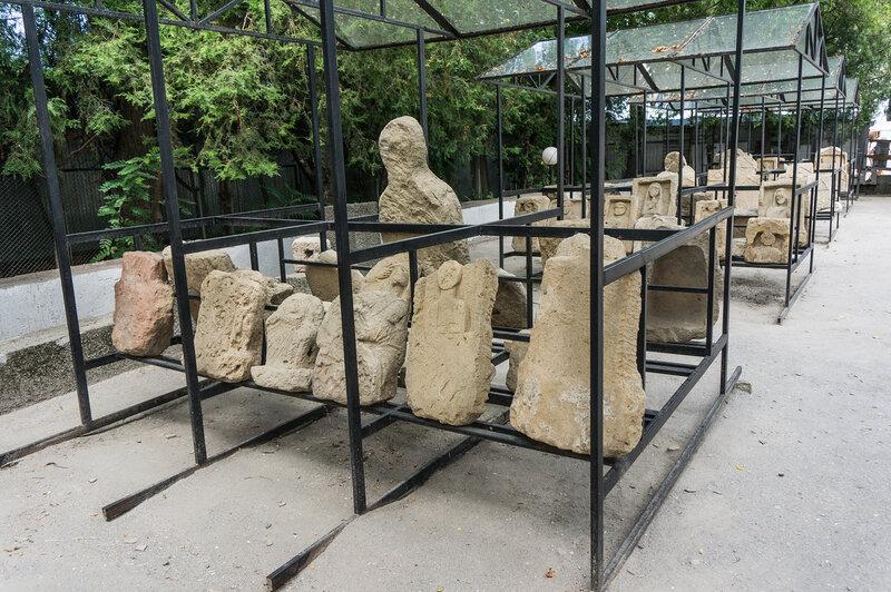 Надгробные стеллы Горгиппии
