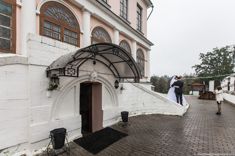 Усадебный дворец в Дубровицх