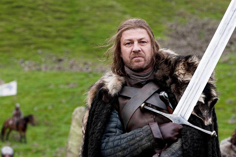 Фигурка одного из самых запоминающихся героев сериала игра престолов - неда старка, роль которого исполнил шон бин