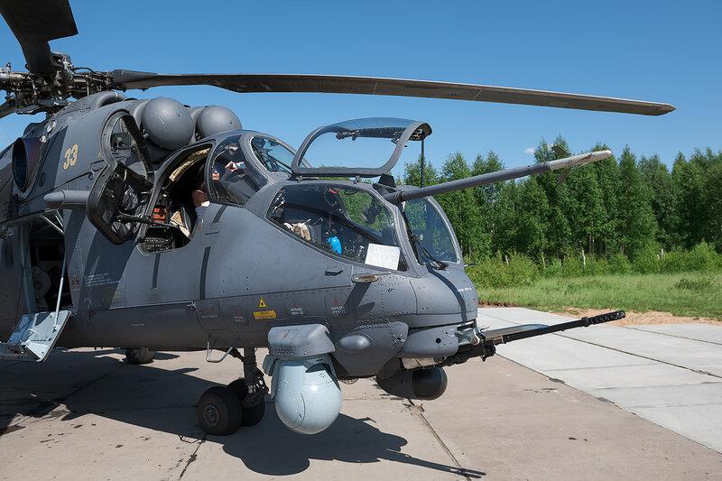 Миль Ми-35ПМ (33 жёлтый) D706718