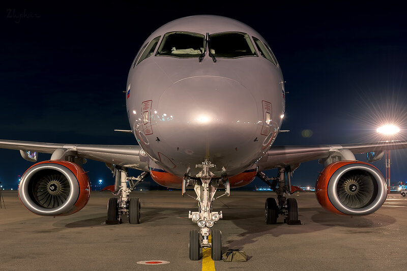 Sukhoi Superjet 100-95 (RA-89009) Аэрофлот D707191