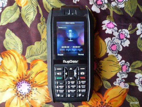 RugGear Mariner RG128 (диктофон)