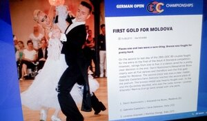 Молдавские танцоры в Германии удостоены высших наград