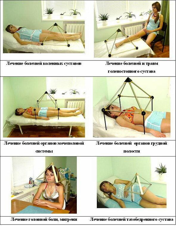 Пирамида для лечения своими руками