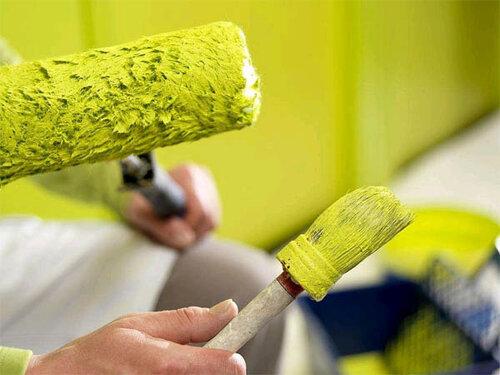 Как правильно красить стены, чтобы вышло на пятерку