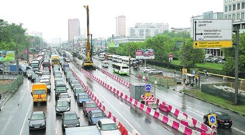 В текущем году наконец-то завершится реконструкция Щелковского шоссе