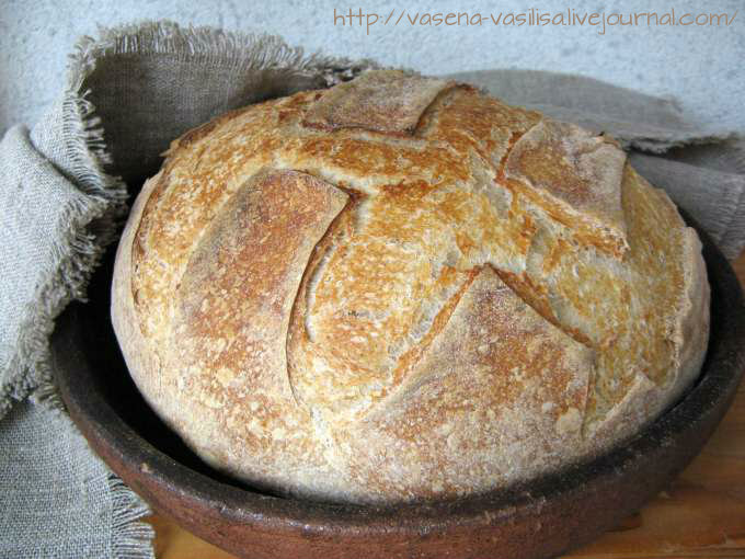 хлеб деревенский фото