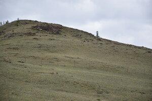 Дорога от Мугур-Аксы. Государственная граница Россия-Монголия